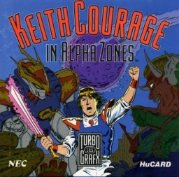 So… Keith Courage in Alpha Zones