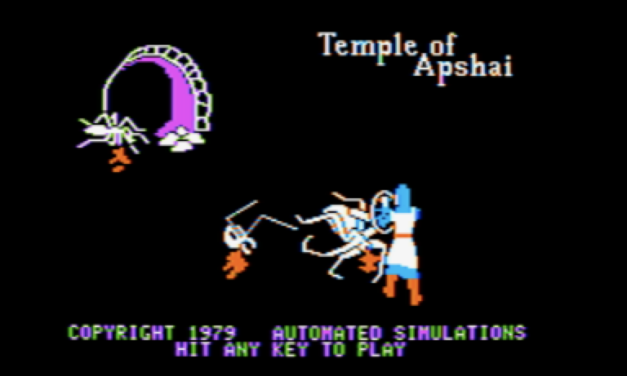 So… Temple of Apshai