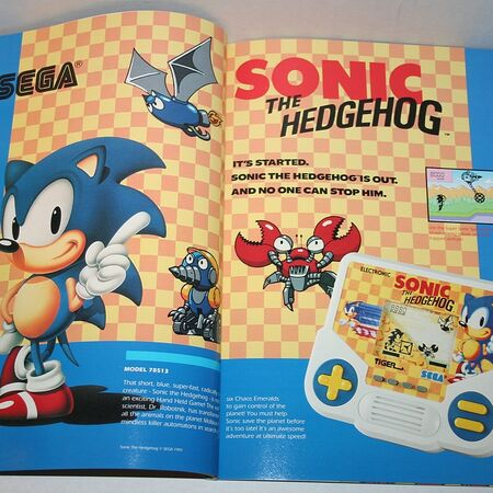 So… Tiger Electronics Sonic The Hedgehog