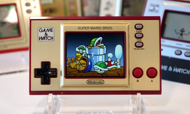 Super Mario Bros. Watch and also a Game (3 of them)